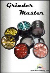 Grinder Aluminium Master 4 parties