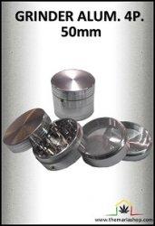 Grinder aluminium 4 parties avec récupérateur